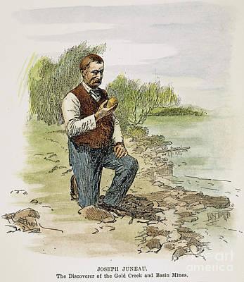 Joseph Juneau (1826-1899) Poster by Granger