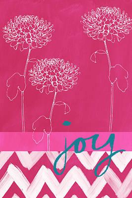 Joy Poster by Linda Woods