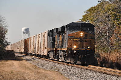 Poster featuring the photograph Juice Train by John Black