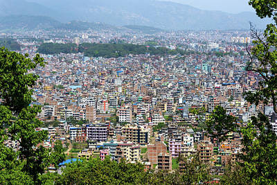 Kathmandu City In Nepal Poster