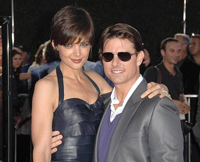 Katie Holmes Wearing A Holmes Yang Poster by Everett