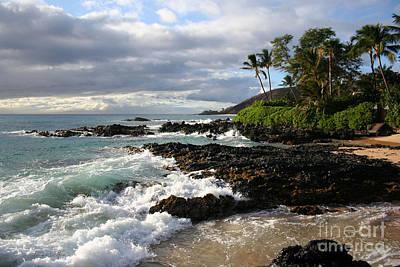Ke Lei Mai La O Paako Oneloa Puu Olai Makena Maui Hawaii Poster