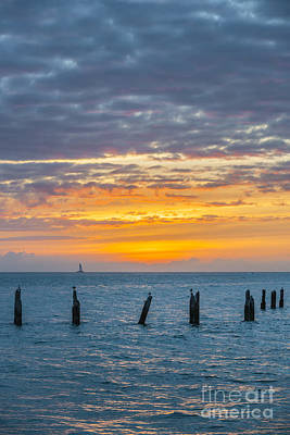 Key West Sunset Poster by Elena Elisseeva