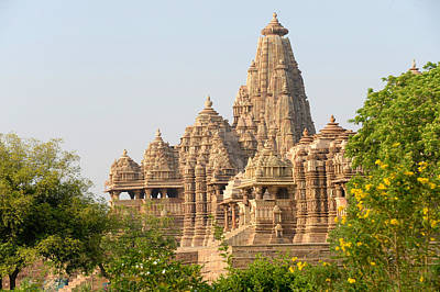 Khajuraho Temple, Chhatarpur District Poster