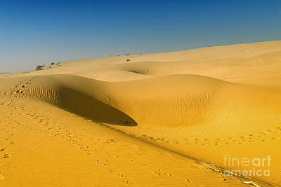 Poster featuring the photograph Khuri Desert by Yew Kwang