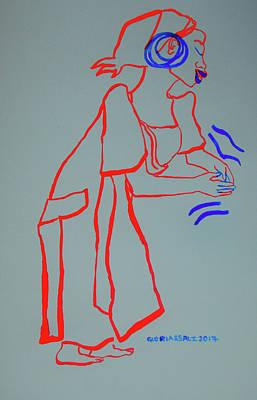 Kikuyu Traditional Dance Kenya Poster