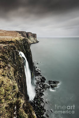 Kilt Rock Waterfall - Isle Of Skye Poster