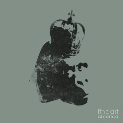 King Ape Poster by Pixel Chimp