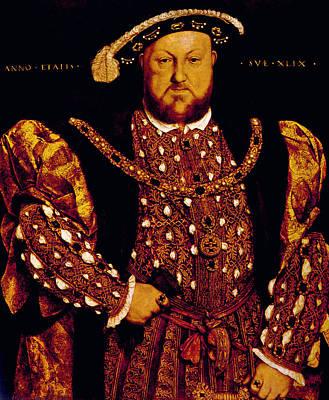 King Henry Viii 1491-1547, King Poster by Everett