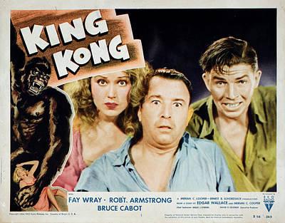 King Kong, Fay Wray, Robert Armstrong Poster