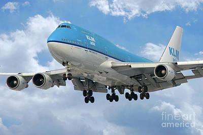 Klm Boeing 747 Poster