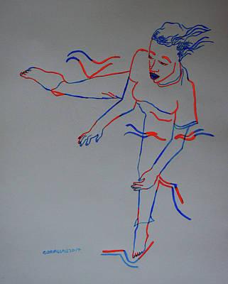 Kuduro Traditional Dance Angola Poster