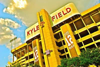 Kyle Field Aggieland Poster by Chuck Taylor