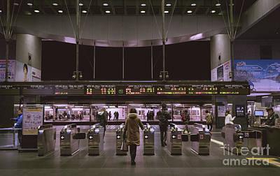 Kyoto Train Station, Japan Poster