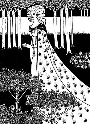 La Beale Isoud At Joyous Gard Poster