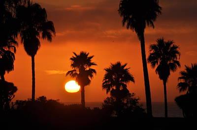 La Jolla Sunset Poster