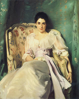 Lady Agnew Of Lochnaw Poster by John Singer Sargent