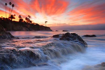 Laguna Beach Sunrise Poster