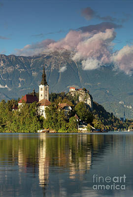 Lake Bled Poster by Brian Jannsen