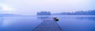 Lake Placid In Autumn, Adirondack, New Poster