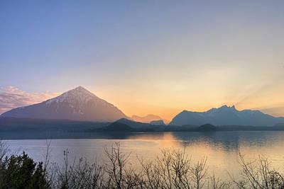 Lake Thun - Switzerland Poster by Joana Kruse