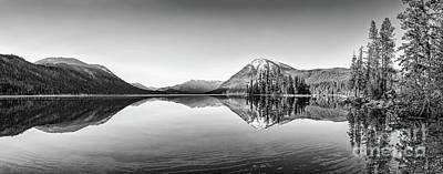 Lake Wenatchee Panorama Poster by Jamie Pham