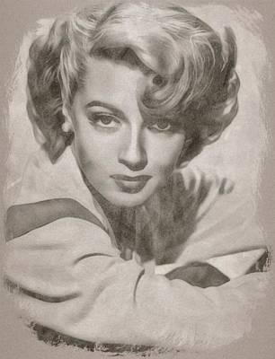 Lana Turner By John Springfield Poster by John Springfield