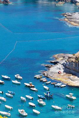 Landscape And Coast Of The Italian Island Ponza Poster