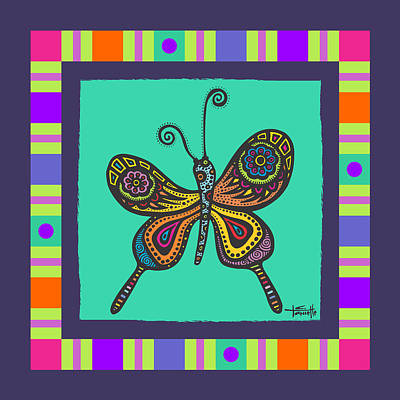 Learning To Fly Poster by Tanielle Childers