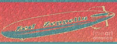 Led Zeppelin Poster by RJ Aguilar