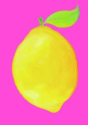 Lemon  Poster by Jan Matson