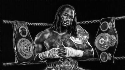 Lennox Lewis Collection Poster by Marvin Blaine