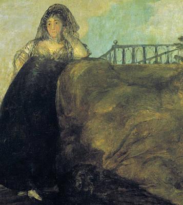 Leocadia Zorilla Poster by Francisco Goya