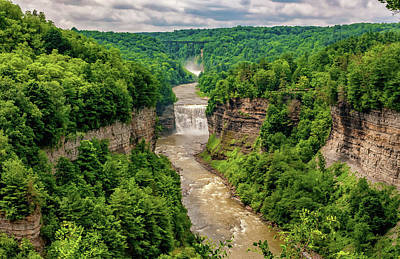 Letchworth State Park 6 Poster by Steve Harrington