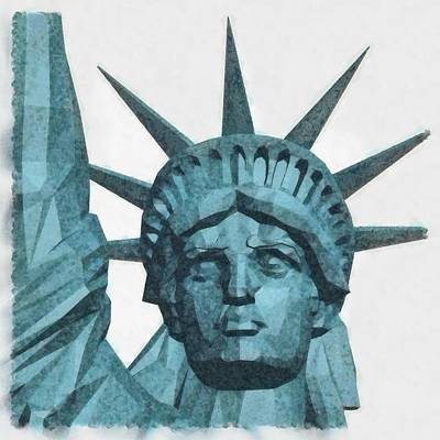 Liberty By Pierre Blanchard Poster