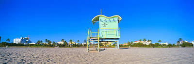 Lifeguard Station At South Beach, Miami Poster by Panoramic Images