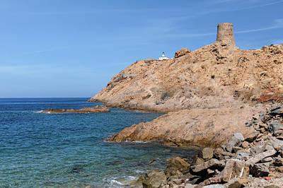 L'ile Rousse - Corsica Poster