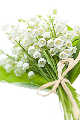 Lily-of-the-valley Bouquet Poster