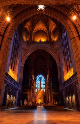 Liverpool Cathedral, Church Of England Poster by Panoramic Images