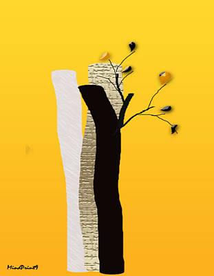Log Flowers Poster
