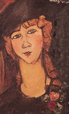 Lolotte Poster by Amedeo Modigliani