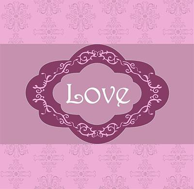 Love Poster by Mariyana Paskaleva