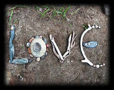 Love Poster by Tanielle Childers
