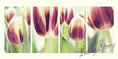 Lovely Spring Poster by Angela Doelling AD DESIGN Photo and PhotoArt