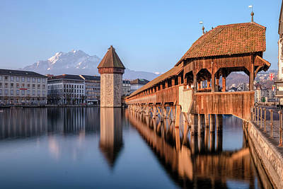 Lucerne - Switzerland Poster by Joana Kruse