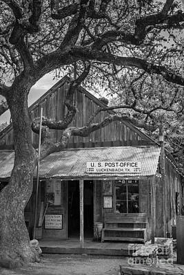 Luckenbach Post Office Poster by Inge Johnsson