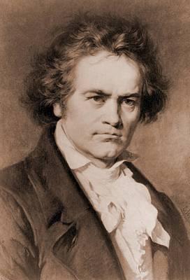 Ludwig Van Beethoven 1770-1827 Poster by Everett