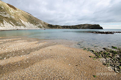 Lulworth Cove Poster by Nichola Denny