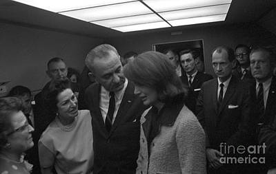 Lyndon B. Johnson Sworn Poster
