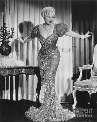 Mae West (1892-1980) Poster by Granger